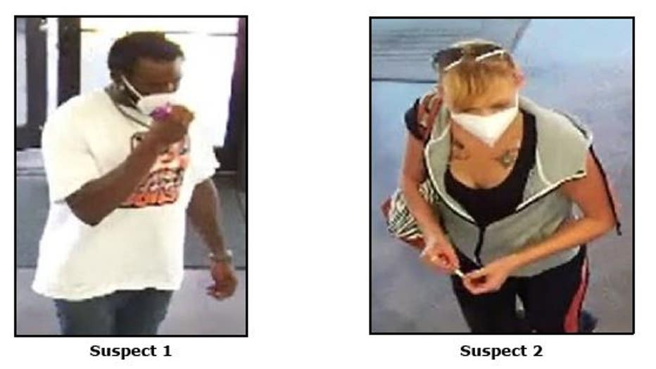 WSS shoe store robbery suspects