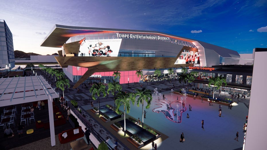 Coyotes Tempe rendering