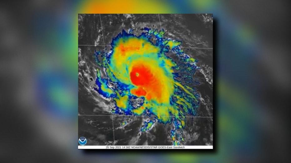 Hurricane Sam radar (1)