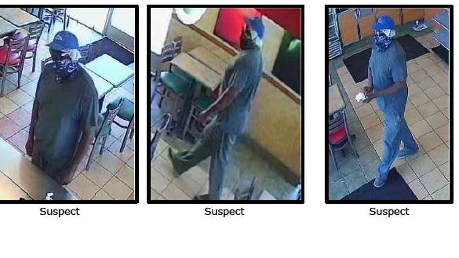 Subway robbery suspect