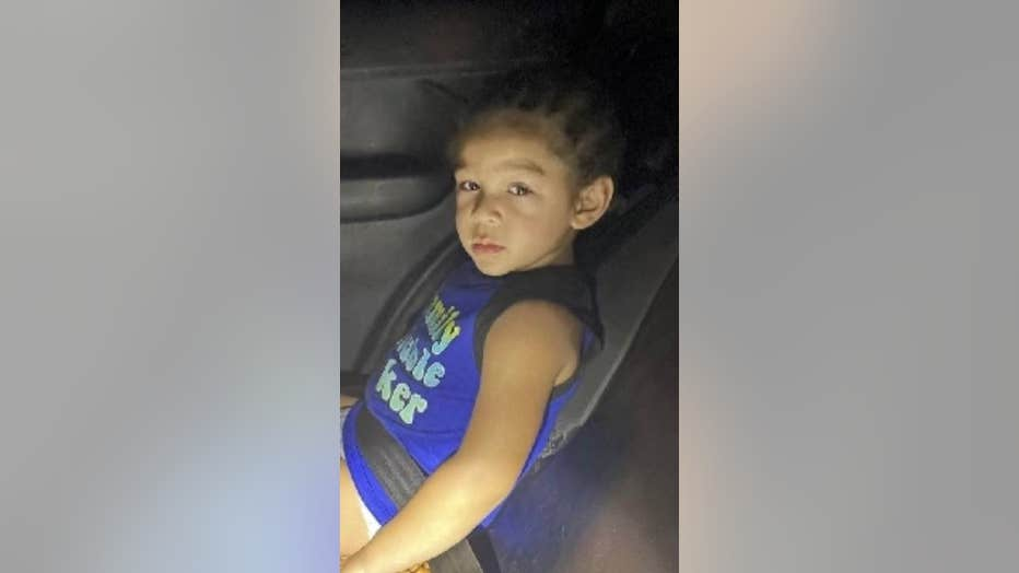 A young boy found in Mesa.