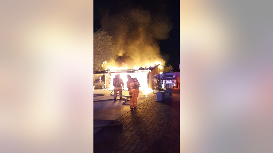 Turney house fire
