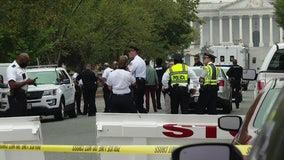 Man in custody after US Capitol Police investigate suspicious vehicle near Supreme Court