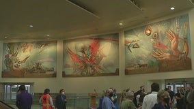 'The Phoenix' mural in Sky Harbor finds new home following airport renovations