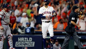 Correa's time: Late HR helps Astros top Bosox in ALCS opener