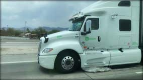 Behind the wheel of autonomous trucks with TuSimple in Tucson