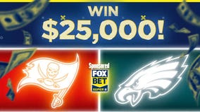 Tampa Bay Buccaneers vs. Philadelphia Eagles: Win $25,000 for free with FOX Super 6