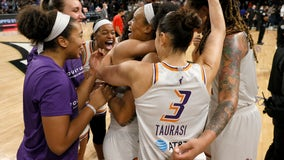 Taurasi leads Phoenix Mercury past Aces to advance to WNBA Finals
