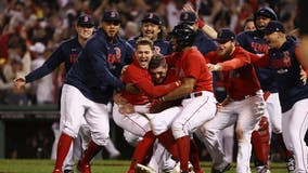 Boston Red Sox eliminate Rays 6-5 with late sac fly, advance to ALCS