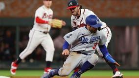 Dodgers lose Game 1 of NLCS following Atlanta's game-winning single