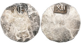 Rare coin made in Boston in 1652 up for auction