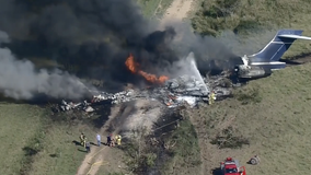 Federal investigators looking into fiery Texas plane crash headed to Boston