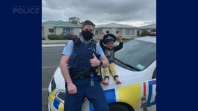 Police answer 4-year-old's call in New Zealand, confirm his toys are cool