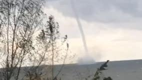'Magnificent yet terrifying': Waterspout twirls over Lake Erie