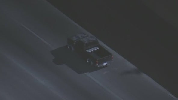 Suspect in custody after leading CHP on chase across LA, Orange counties