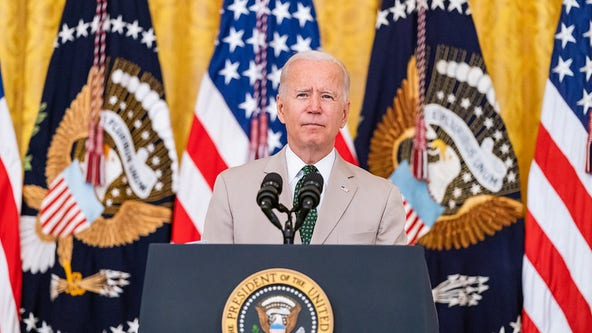 Biden touts spending, infrastructure packages to revive US