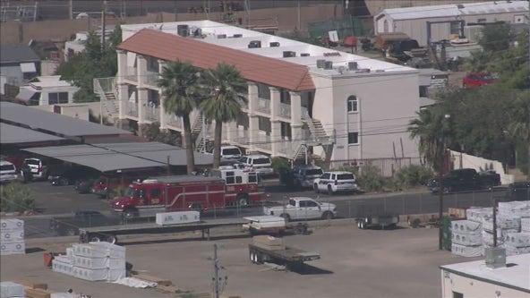 Man accused of stabbing his girlfriend, harming himself in Deer Valley apartment