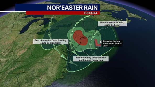 Nor'easter: New York, New Jersey issue states of emergency ahead of storm