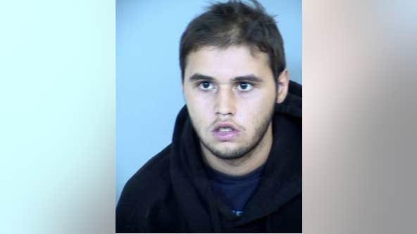 Mesa homeowner finds naked intruder inside house, holds him at gunpoint until police arrive
