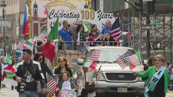 Columbus Day Parade marks first large-scale spectacle in NYC since pandemic