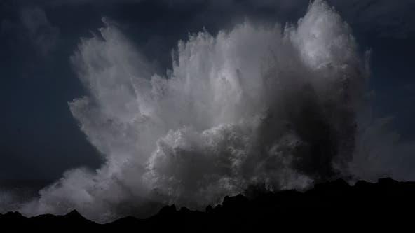 PHOTOS: 'Bomb cyclone' storm slams Northern California