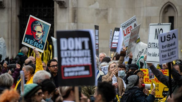 Julian Assange: US asks UK to permit extradition of WikiLeaks founder