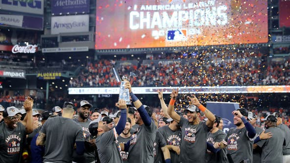 Astros win ALCS, headed to the World Series