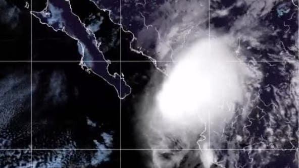 Hurricane Pamela makes Mexico landfall near Mazatlan