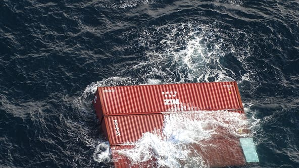 Fire on cargo ship off British Columbia coast reported out