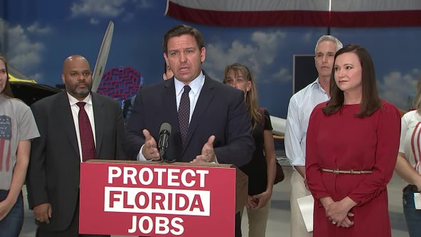 Florida files lawsuit against Biden administration to challenge vaccine mandate for federal contractors