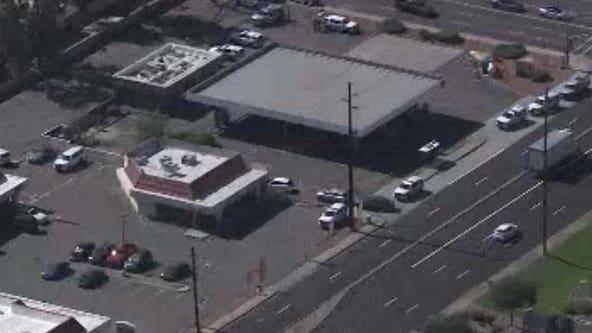 PD: 1 shot at Glendale gas station parking lot