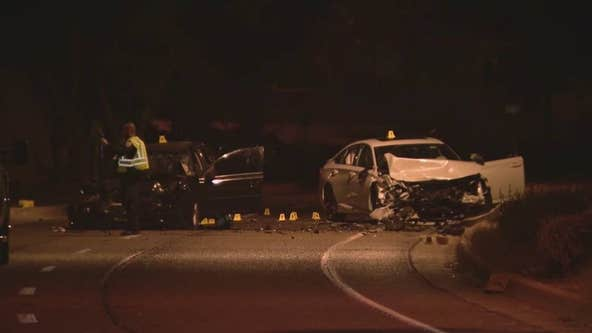 2-year-old girl killed in wrong-way crash in Tempe
