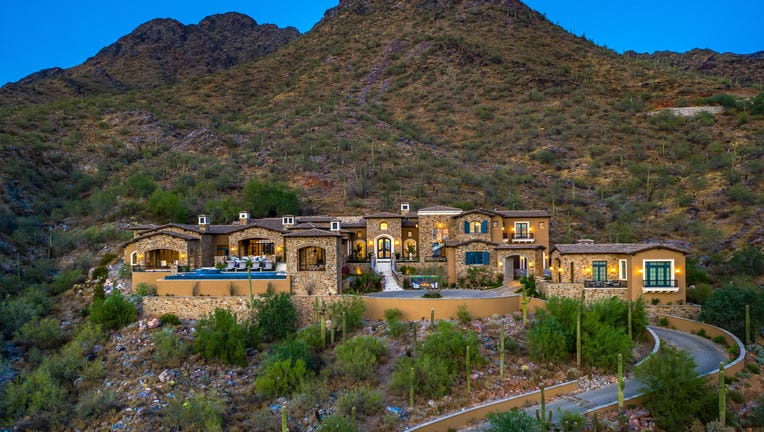 """""""Castle On The Hill,"""" a property in North Scottsdale"""