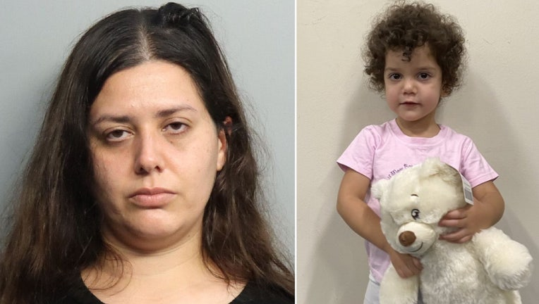 miami hospital mother abandoned toddler