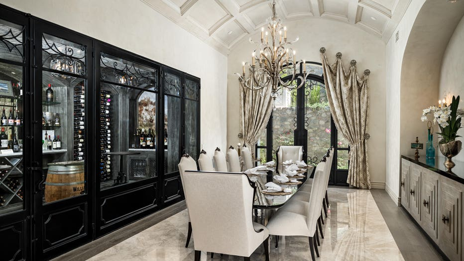 """Interior of """"Castle On The Hill,"""" a property in North Scottsdale"""