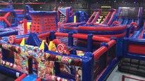 Biggest inflatable park opens in Sarasota