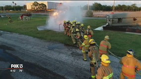Drone Zone: Tampa Fire Rescue Training Grounds