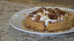 Good Day Gourmet: Carrot cake waffles
