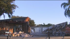 Months after deadly shooting, Sebring SunTrust building demolished