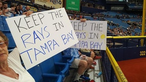 Rays fans rally to keep team in the Tampa Bay area