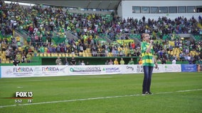 Rowdies name young cancer survivor as official National Anthem singer