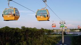 Walt Disney World's Skyliner gondolas open this weekend