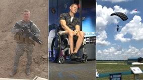 Regret drives wheelchair-bound veteran to fly