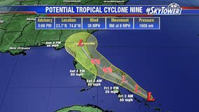 Tropical depression likely to form as system nears Florida