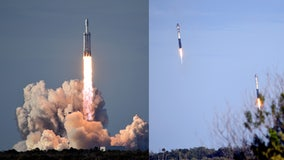 SpaceX's first commercial Falcon Heavy mission complete