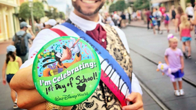 Florida mom has a magical day at Walt Disney World after kids head to first day of school