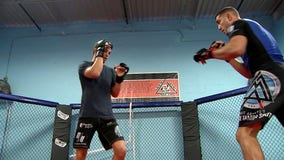 MMA fighter helps aspiring fighters in Tampa