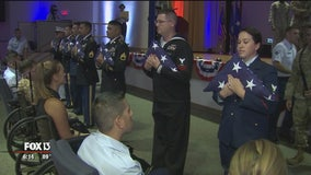 MacDill's D-Day 75th Anniversary program welcomes 11 World War II veterans