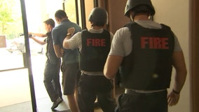Temple Terrace first responders join for multi-agency active shooter training