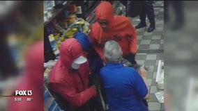 Robbers suspected in cigarette heists across 2 counties